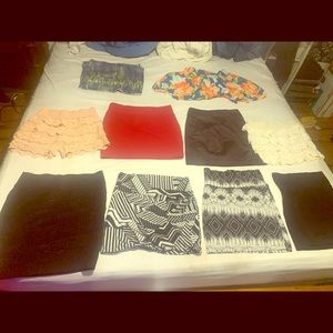 Skirt bundle (10) 3$ each or $21 for all